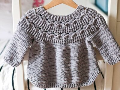 crochet Ester Sweater easy pattern
