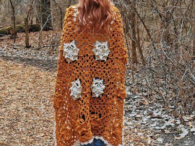 crochet Ginny Blanket free pattern