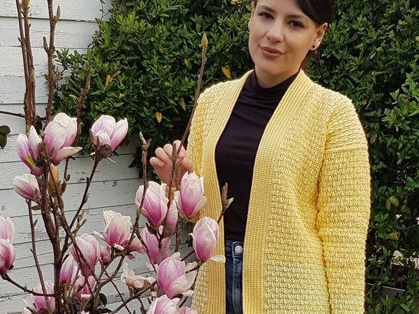 crochet Jacket for Spring free pattern