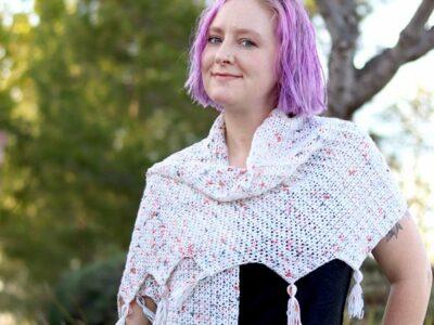 crochet Lois Shawl free pattern