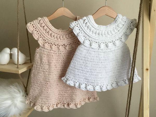 crochet Magnolia Dress easy pattern