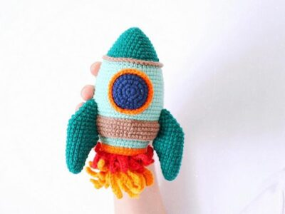 crochet Rocket easy pattern