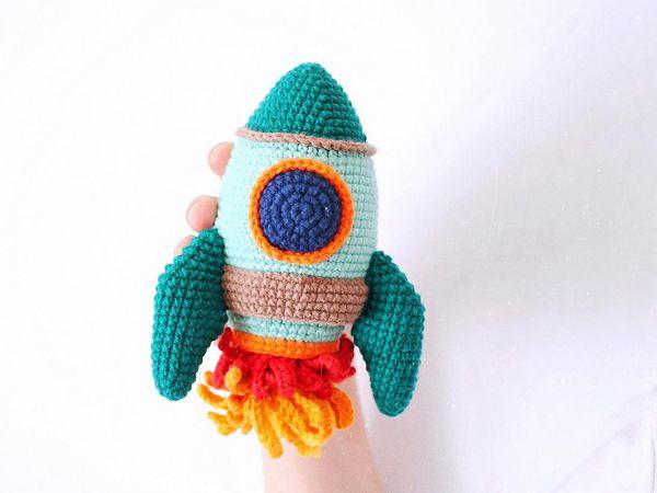 crochet Rocket easy pattern