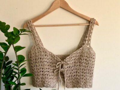 crochet Shell Top free pattern