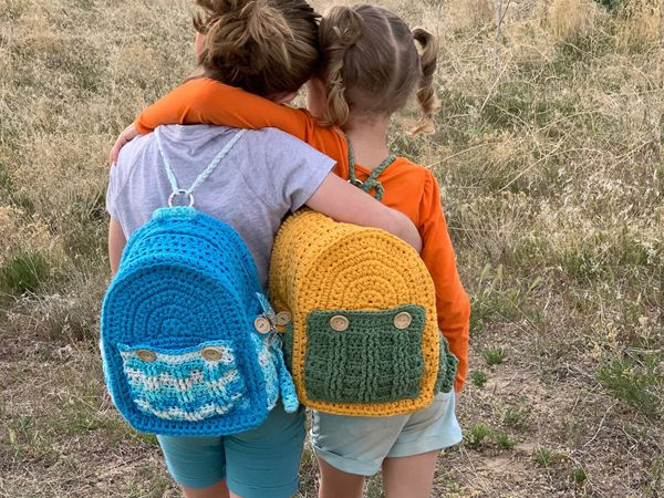 crochet The Hannah Backpack easy pattern