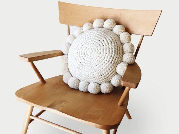 crochet The Pestel Pillow easy pattern