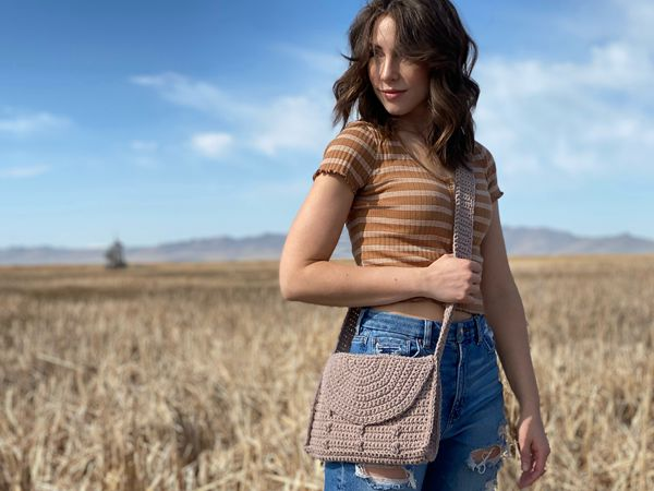 crochet The Whimsy Satchel free pattern