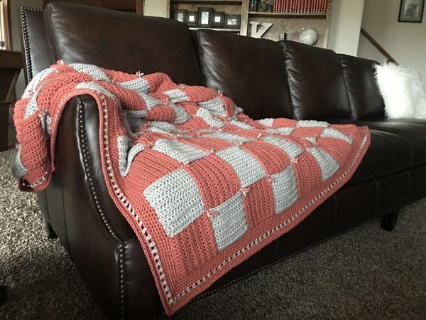 crochet Woven In Time Blanket free pattern