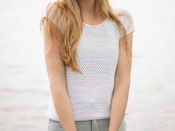 Perfect Crochet T-Shirt free pattern