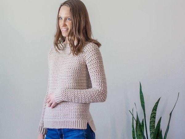 crochet Ceres Pullover easy pattern