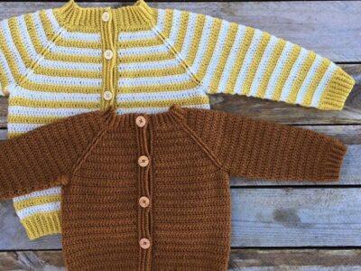 crochet Eeny Meeny Cardigan easy pattern