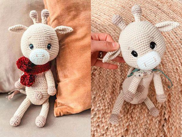 crochet Franky Giraffe Amigurumi free pattern