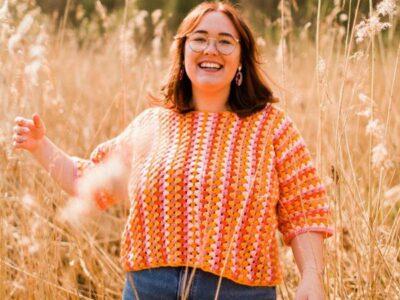 crochet Gracie Jumper easy pattern
