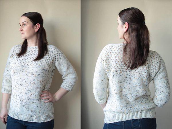 crochet Hawberry Sweater free pattern