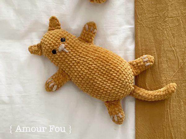 crochet Little Cat free pattern
