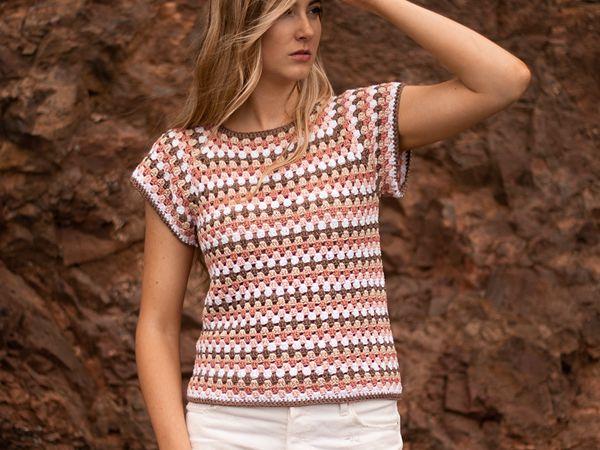 crochet Maria Top free pattern