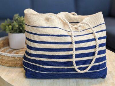crochet Marina Tote free pattern