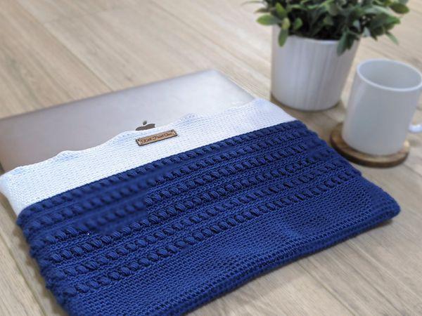 crochet Oceano Laptop Case free pattern