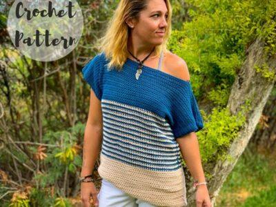 crochet The Harper Tee easy pattern