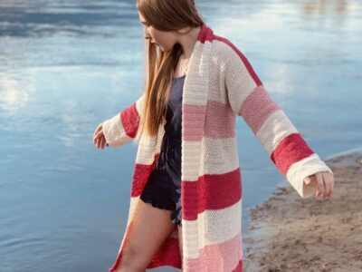 crochet The Lyndie Cardigan free pattern