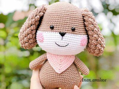 crochet A little Dog Amigurumi easy pattern