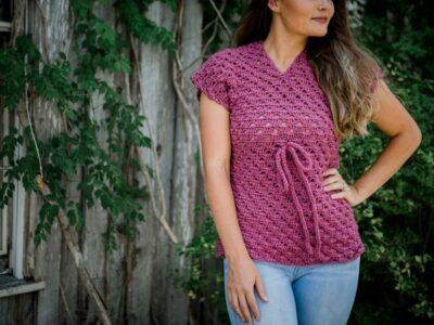crochet Meridian Top free pattern