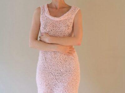 crochet Summer Beach Mini Dress easy pattern