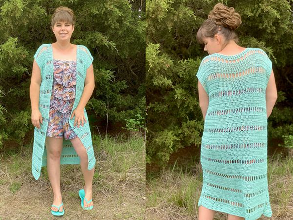crochet Swimsuit Cover Up free pattern