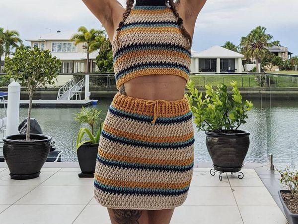 crochet The Harmony Skirt easy pattern
