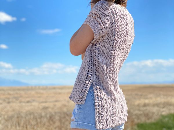 crochet The Windfall Cardigan free pattern