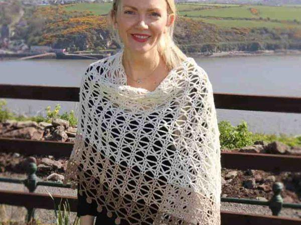 crochet Venetia Wrap free pattern