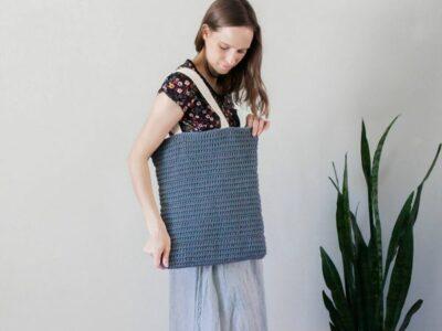 crochet Villa Bag free pattern