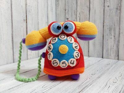 CROCHET Amigurumi Telephone EASY pattern