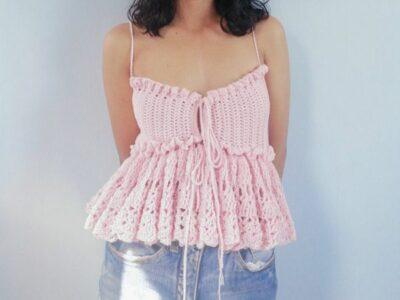 crochet Alexa Top easy pattern