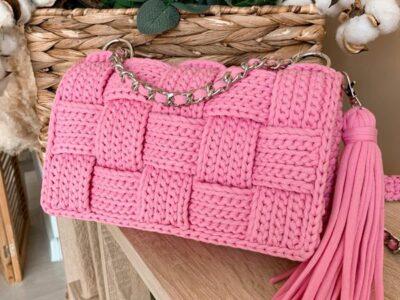 crochet Bottega Veneta Handbag easy pattern