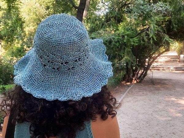 crochet Brisa Hat free pattern