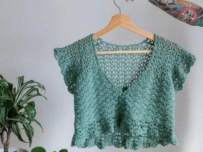 crochet Buttercup Top easy pattern