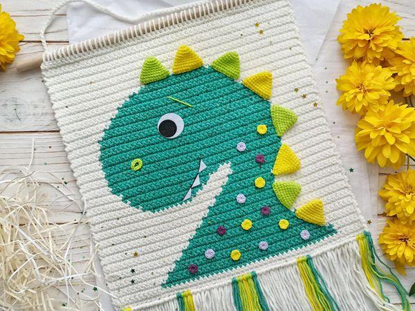 crochet Dinosaur Nursery Decor easy pattern