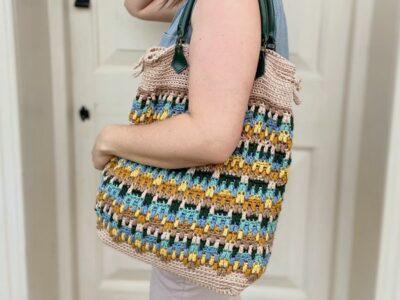 crochet Hayden Mosaic Bag free pattern