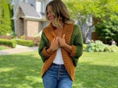 crochet Hayride Shrug free pattern