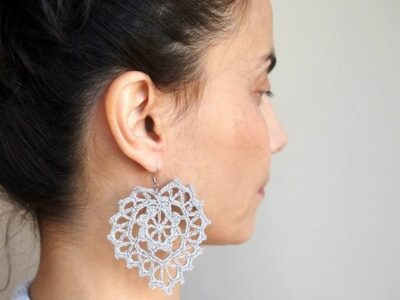 crochet Heart Me Jewelry easy pattern