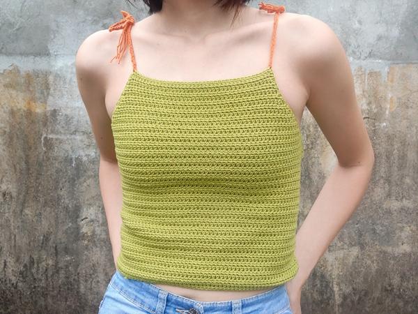 crochet Isla Top free pattern
