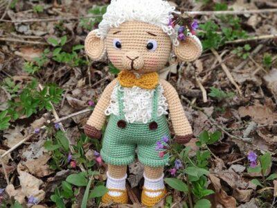crochet Lamb Amigurumi easy pattern