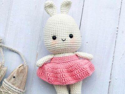 crochet Little Bunny Nina Amigurumi free pattern