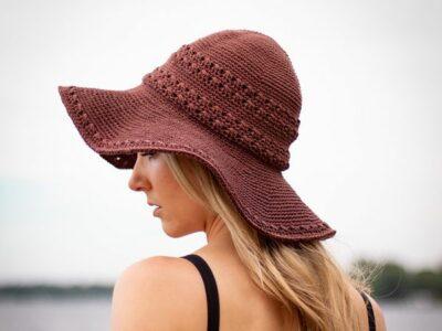crochet Seaside Sun Hat free pattern