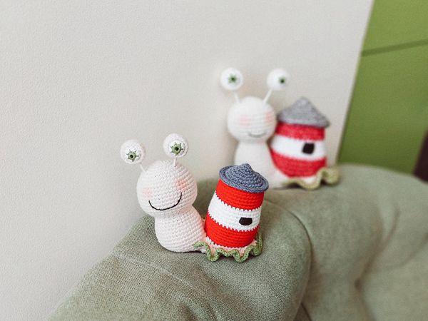 crochet Snail Amigurum easy pattern