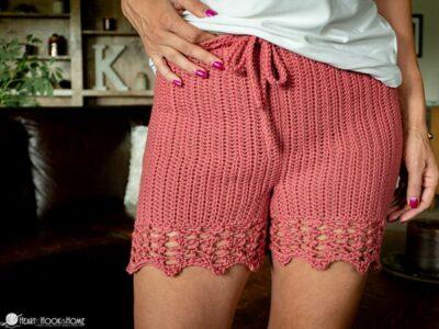 crochet Staycation Shorts free pattern