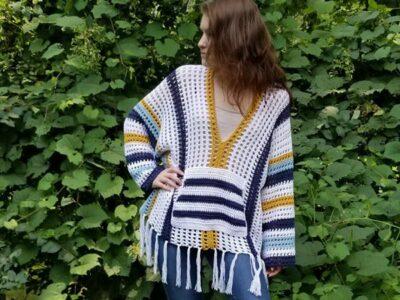 crochet Summer Staple Sweater free pattern