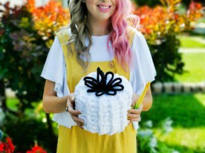 crochet 1-Hour Pumpkin free pattern