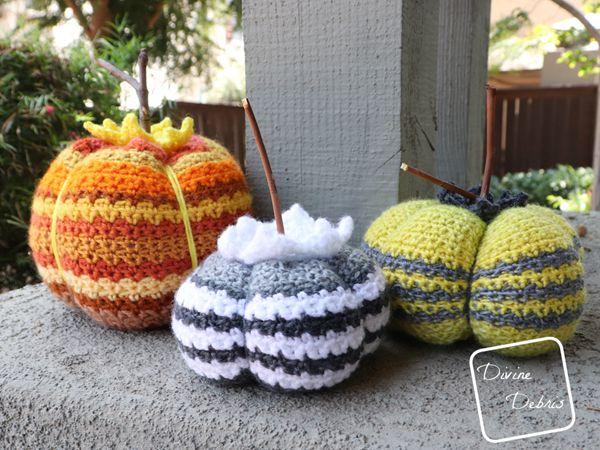 crochet Amelia Pumpkin free pattern
